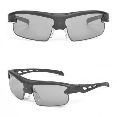 The world's unique 0.3 second automatically switches color-changing sunglasses - Hollow Out Frame