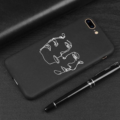 3D Relief Phone Case for iPhone - 02 / For iPhone 5 5S SE