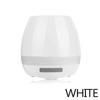 LED Bluetooth Music Planter Pot - white