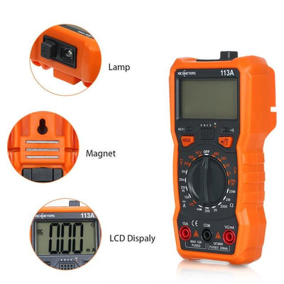 Digital Multimeter - 113A with Magnet