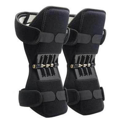 Spring-loaded Joint Support Knee Brace - 1 Pair