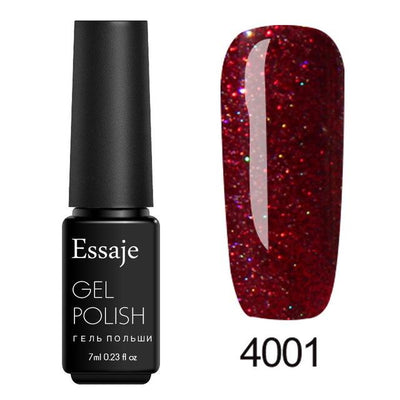Shiny Color UV Gel Nail Polish - 4001