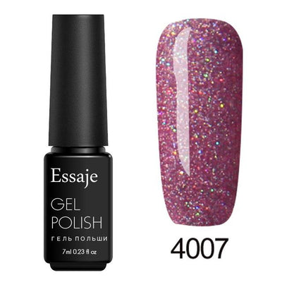 Shiny Color UV Gel Nail Polish - 4007