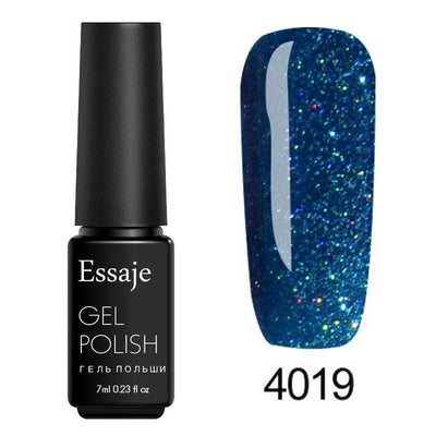 Shiny Color UV Gel Nail Polish - 4019