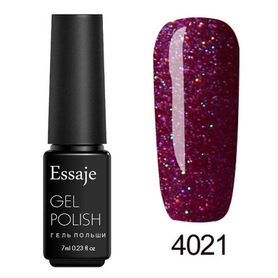 Shiny Color UV Gel Nail Polish - 4021