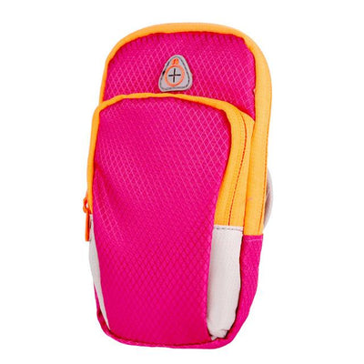 Convenient Sports Storage Armband - Hot Pink