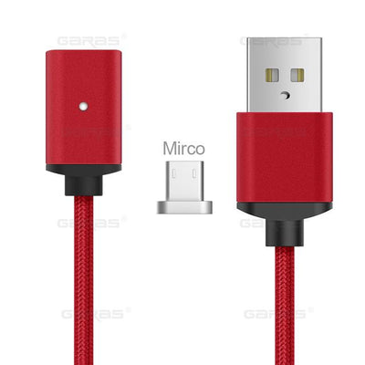 Lightning Cable - Micro-USB Cable / Red / 1m