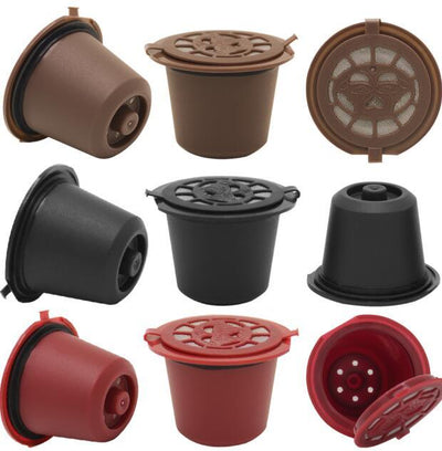 Reusable Coffee Capsules - 9 ALL
