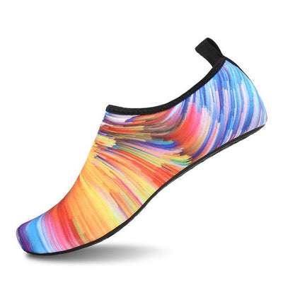 Womens and Mens Water Shoes Barefoot Quick-Dry Aqua Socks - Multicolor 6 / 38