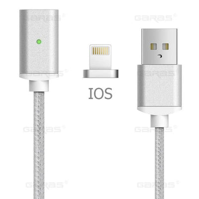 Lightning Cable - iOS Cable / Silver / 1m