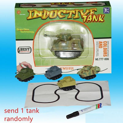 Inductive Toy Truck - Tank