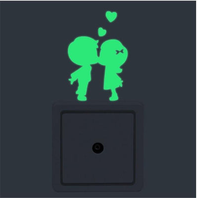 Home Decor Luminous Stickers - 1pc Green Lover