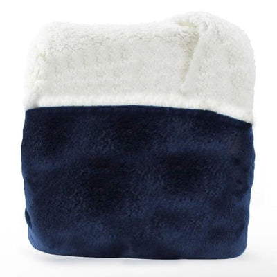 Blanket Sweatshirt For Adults - Blue