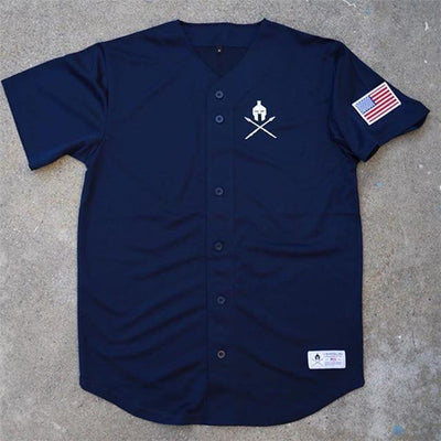 Summer Casual T-shirt - Navy Blue / M