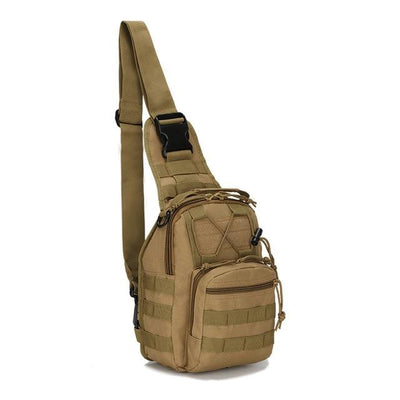 Hiking Shoulder Military Backpack - Khaki