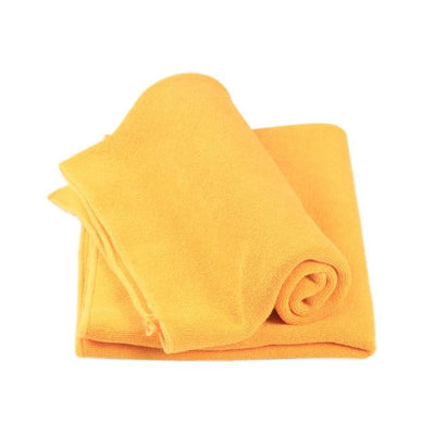 Soft Microfiber Towel Cloth - Orange / one