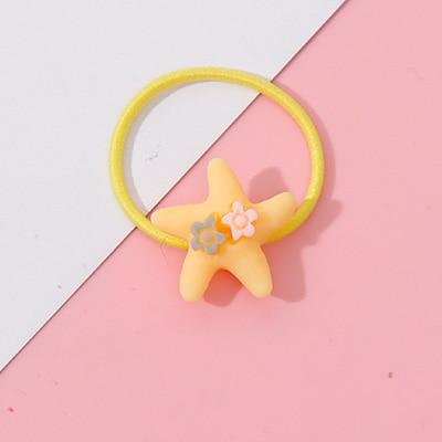 Cute Elastic Hair Band - 32