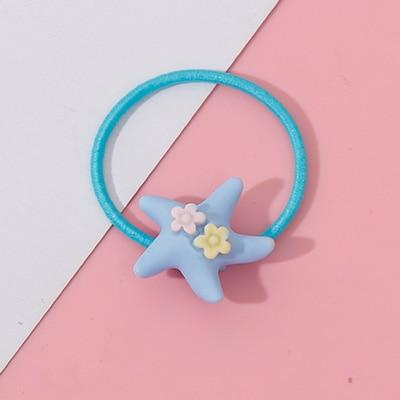 Cute Elastic Hair Band - 34