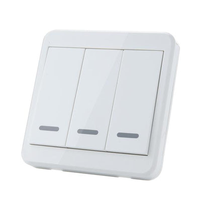 Wireless Room Lighting Switch - 3 Buttons