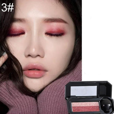 Double Color Eyeshadow Palette - 3