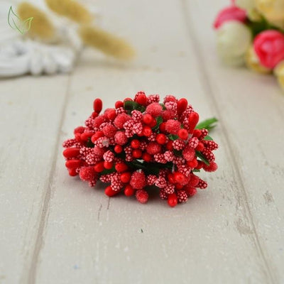 Handmade Stamen Flower Set (12Pcs) - 3 network
