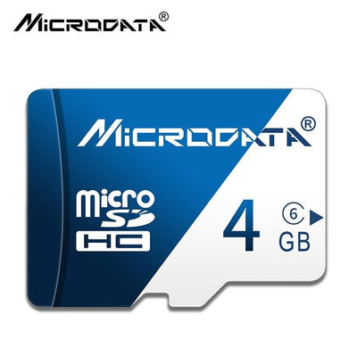 Micro SD Flash Memory Card - 4 GB