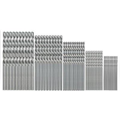 50 Pcs Drill Bit set - Round / 50pcs Sliver