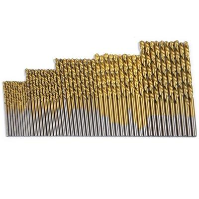 50 Pcs Drill Bit set - Round / 50pcs Titanium