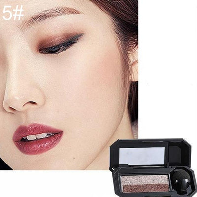 Double Color Eyeshadow Palette - 5