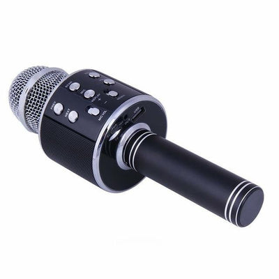 Wireless Bluetooth Karaoke Microphone - Black