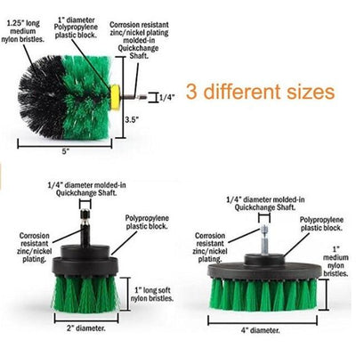 Power Scrubber Kit - Green