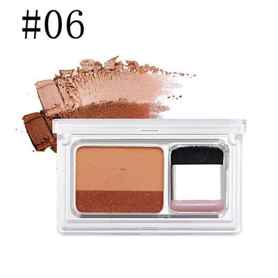 Dual Color Eye Shadow - 6