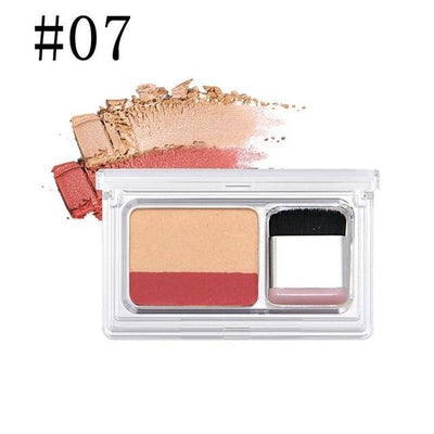 Dual Color Eye Shadow - 7