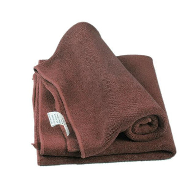 Soft Microfiber Towel Cloth - Coffee / one