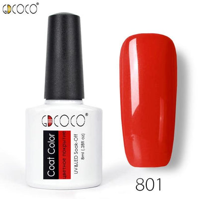 Gorgeous Nail Varnishes Gel - 801