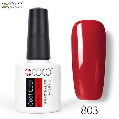Gorgeous Nail Varnishes Gel - 803