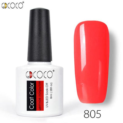 Gorgeous Nail Varnishes Gel - 805