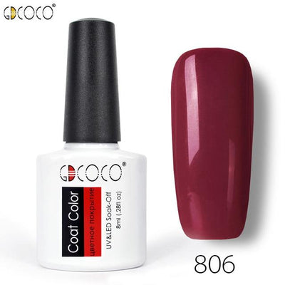 Gorgeous Nail Varnishes Gel - 806