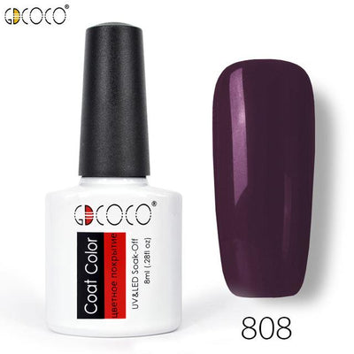 Gorgeous Nail Varnishes Gel - 808