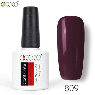 Gorgeous Nail Varnishes Gel - 809