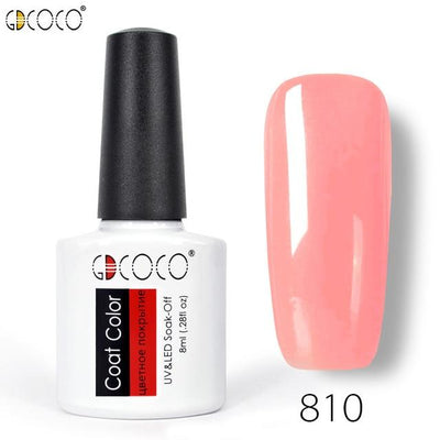 Gorgeous Nail Varnishes Gel - 810