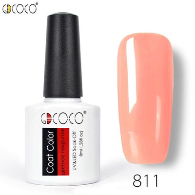 Gorgeous Nail Varnishes Gel - 811