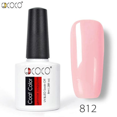 Gorgeous Nail Varnishes Gel - 812