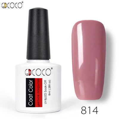 Gorgeous Nail Varnishes Gel - 814