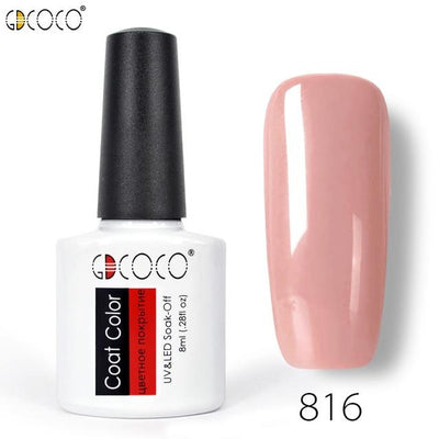 Gorgeous Nail Varnishes Gel - 816
