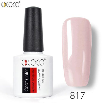 Gorgeous Nail Varnishes Gel - 817