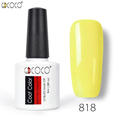 Gorgeous Nail Varnishes Gel - 818