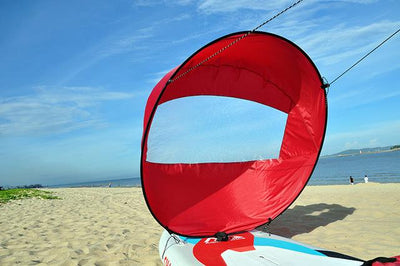 Kayak Boat Wind Sail - Red