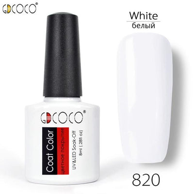 Gorgeous Nail Varnishes Gel - 820