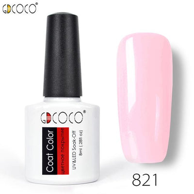 Gorgeous Nail Varnishes Gel - 821